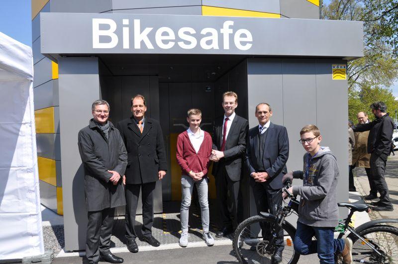 2017 04 28 Bikesafe Einweihung