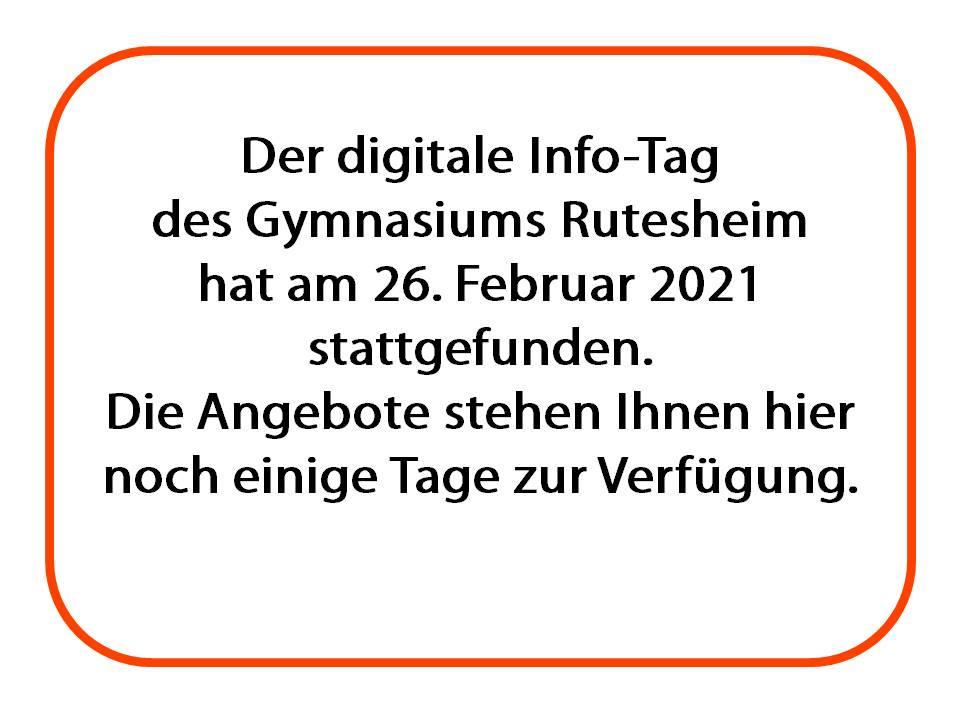 Der digitale Info Tag