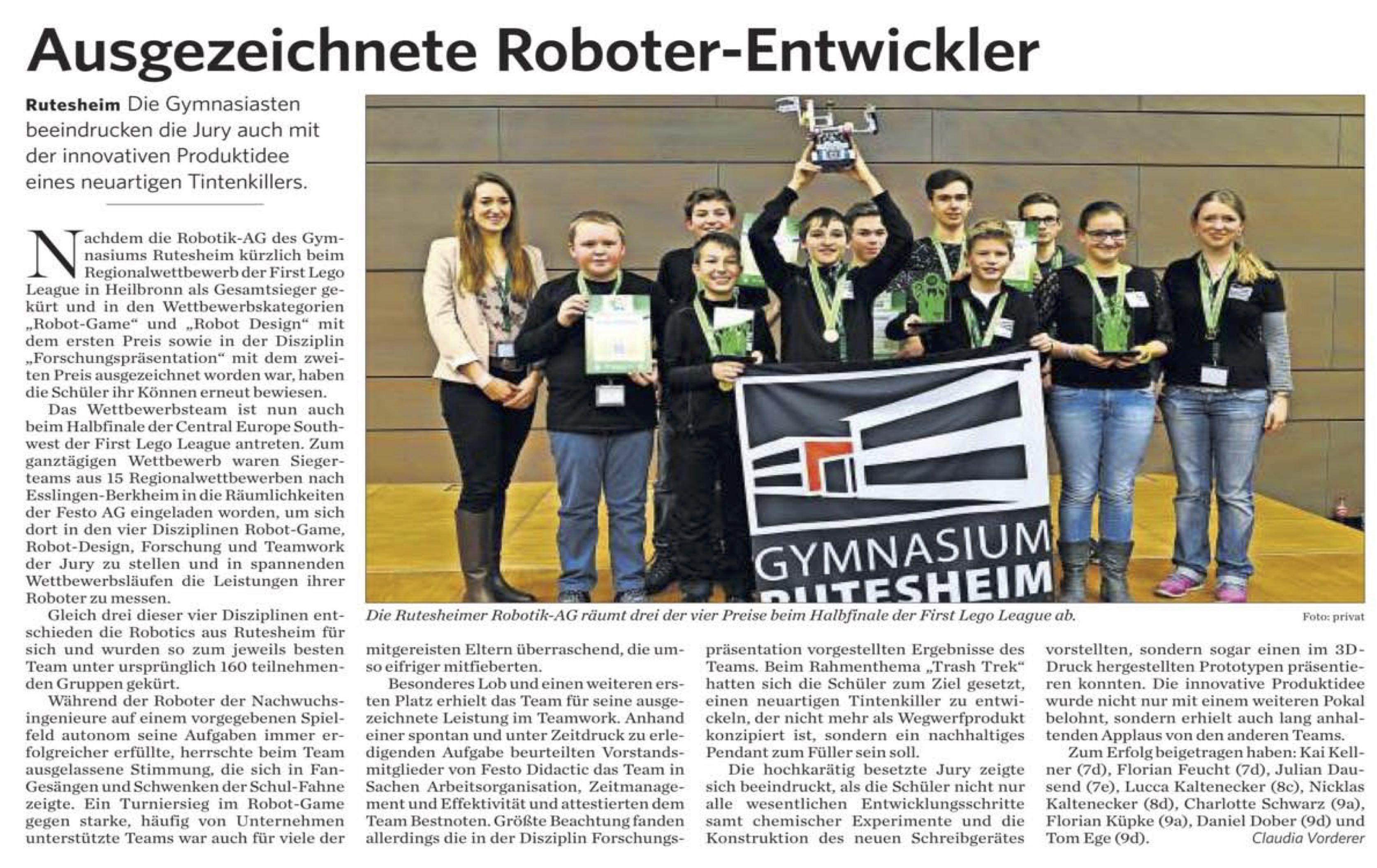 2016 02 12 Ausgezeichnete Roboter-Entwickler