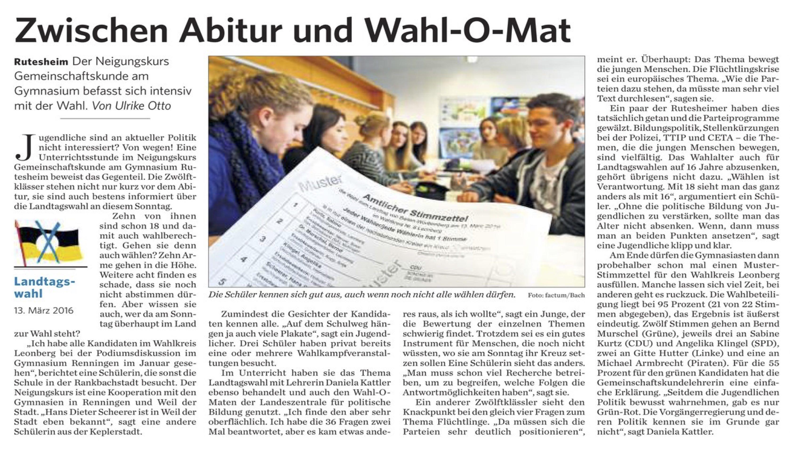 2016 03 11 Zwischen Abitur und Wahl-O-Mat